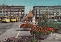 Tram/Strassenbahn Karlsruhe,Marktplatz 1968, Gelaufen - Tramways