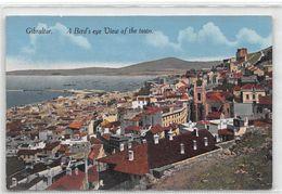 Gibraltar A Bird's Eye View Of The Town - Gibilterra