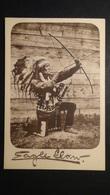 Indianer Auf Einem Knie Mit Pfeil Und Bogen - Look Scans - Indianer