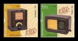 Moldova 2019 Mih. 1085/86 Vintage Radios MNH ** - Moldova