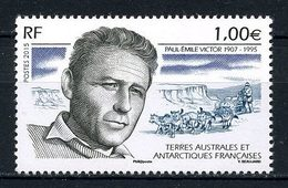 TAAF 2015 N° 740 ** Neuf MNH Superbe Paul Emile Victor Explorateur Chiens Dogs Traîneau - Neufs