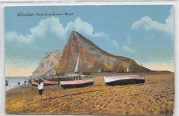 Gibraltar Rock From Eastern Beach - Gibilterra