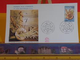 Congrès International Pain Et Céréales - Paris - 30.5.1992 FDC 1er Jour N°1800 - Coté 2,70€ - FDC
