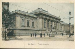 N°70128 -cpa Le Havre -le Palais De Justice- - Le Havre