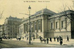 N°70129 -cpa Le Havre -le Palais De Justice- - Le Havre