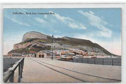 Gibraltar Rock From Commercial Mole - Gibilterra