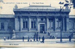 N°70131 -cpa Le Havre -le Palais De Justice- - Le Havre