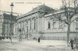N°70132 -cpa Le Havre -le Palais De Justice- - Le Havre