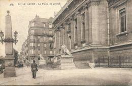N°70133 -cpa Le Havre -le Palais De Justice- - Le Havre