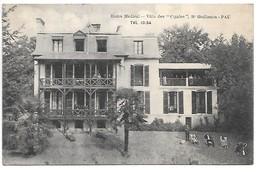 """Cpa...Home Médical..villa Des """"cigales"""" , Boulevard Guillemin Pau...tél.10.54 ..animée ..1930... - Pau"""