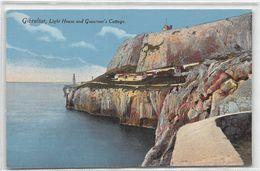 Gibraltar Light House And Governor's Cottage - Gibraltar