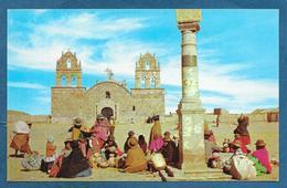 BOLIVIA PUEBLO DEL ALTIPLANO BOLIVIANO UNUSED - Bolivia