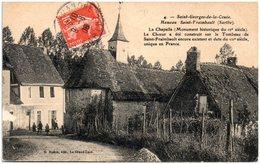 72 SAINT-GEORGES-de-la-COUEE - Hameau Saint-Fraimbault - Francia