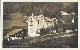 Hoteldes Alpes, Reuti (Hasliberg, Berne) - Verlag Wehrli A.G. Kilchberg - Carte Non Circulée - BE Berne