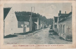 VIMPELLES - Entrée Du Pays Par La Route De Cutrelle - France