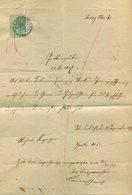 Deutsches Reich / 1874 / Quittung Mit Gebuehrenmarke 20 Pfennige (7387) - Deutschland