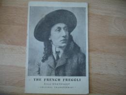 Cirque Artiste The French Fregoli Emile Grandsart Original Transformist - Cirque