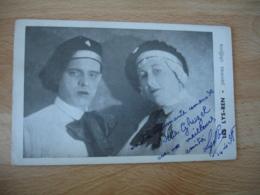 Cirque  Autographe Signature Manuscrite Les Lys Ren Peintre Chiffon - Cirque