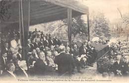 Besançon         25          Fêtes D'Août 1909. Inauguration De La Statue Du Général Jeanningros      (Voir Scan) - Besancon