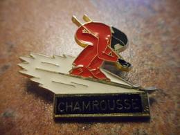 A027 -- Pin's Chamrousse - Villes
