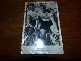 BC3-2-1 Carte Publicitaire Radium Banden Harm SMits (10ème Championnat Monde Amateur 1947) En Cor Bakker - Cyclisme