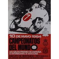 @@@ MAGNET - MOTO CLUB DE CATALUÑA. CAMPEONATOS DEL MUNDO. 1964 - Advertising