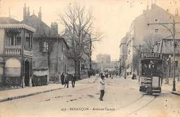 Besançon         25          Tramway Avenue Carnot       (Voir Scan) - Besancon