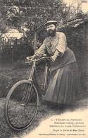 Thaon-les-Vosges - Madame Delait, Cycliste - Membre Du Cycle Thaonnais - Femme à Barbe - Cecodi N'440 - Thaon Les Vosges