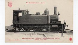 LES LOCOMOTIVES (Nord) Machine N°2.313 Dite Ravachol Service De Banlieue. - Eisenbahnen