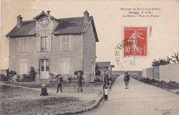 GREGY - La Mairie - Place Des Ecoles - Animé - RARE - Other Municipalities