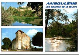16 ANGOULEME  LES SOURCES DE LA TOUVRE  MULTI-VUES - Angouleme