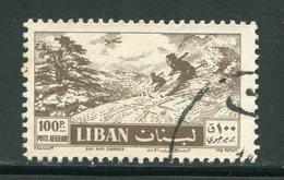 LIBAN-PA Y&T N°142- Oblitéré - Ski