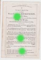 Dinant 1855 Mme BOURGUIGNON Veuve HENRY - Décès