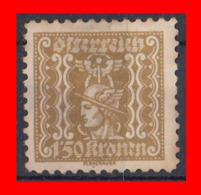 AUSTRIA (ÖSTERREICH) SELLOS AÑO 1921-22 MERCURY - 1918-1945 1. Republik