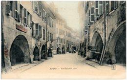 74 ANNECY - Rue Sainte-Croix - Annecy