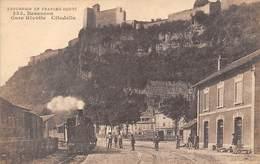 Besançon         25          Gare Rivotte Et Citadelle         (Voir Scan) - Besancon