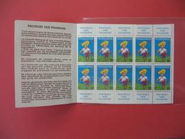 1975 - 1976  Vignette - Carnet Complet Contre La Tuberculose (10)   Neuf ** - Antituberculeux