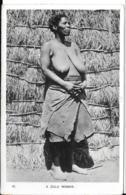 NUS ETHNIQUES South Africa Afrique Du Sud : Zulu Woman - CPSM Photo PF - Seins Nus Nude Nu Topless Girl - Afrique Du Sud, Est, Ouest