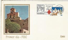 MADRID FDC SPD SANTUARIO VIRGEN DE LA CABEZA ANDUJAR JAEN IGLESIA - Churches & Cathedrals