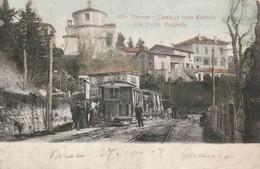 VARESE - STAZIONE TRAM ELETTRICI  ALLA I CAPPELLA - TRENI - Varese