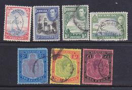 Bermuda 1938  Re Giorgio VI 7 Val.timbrati - Bermuda