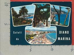 CARTOLINA VG ITALIA - Saluti Da DIANO MARINA (IM) - Vedutine Multivue - 10 X 15 - ANN. 1966 - Saluti Da.../ Gruss Aus...