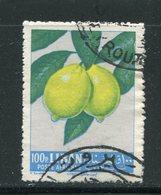 LIBAN-PA Y&T N°274- Oblitéré (citrons) - Fruits
