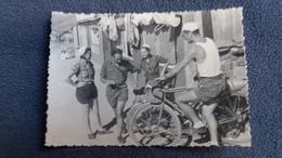 PHOTO CYCLISME VELO COL ? CYCLOTOURISME BELLE ANIMATION  NON LOCALISEE - Cyclisme