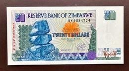 ZIMBAWE P7 20 DOLLARS 1997 UNC - Zimbabwe
