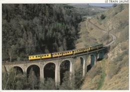 """Triebwagen """"Le Train Jaune"""",Latour-de-Carol A Villefranche-de Conflent, Gelaufen - Treni"""