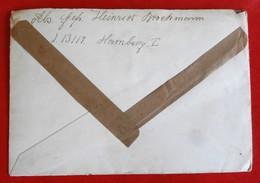 Enveloppe Schneverdingen Hombourg Tampons WW2 - Allemagne