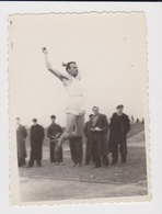 #36770 Abstract Photo In Motion Man On Sport Competition Vintage Orig Photo - Personnes Anonymes