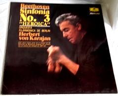 Lp - Beethoven, Sinfonía No.3, Herbert Von Karajan - DEUTSCHE GRAMMOPHON 1979 - Clásica