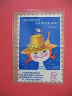 Vignette 1967  - Jeunesse Au Plein Air - Confédération Des Oeuvres De Vacances D'enfants Et D'adolescents  Neuf ** - Antituberculeux